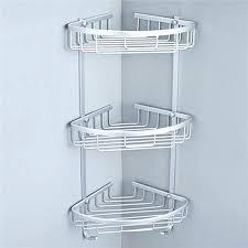 corner caddy 3 aluminium plank rack hanger in 3 aluminium caddy corner kitchen rug