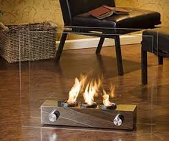 Glass FireplaceMini Fireplace