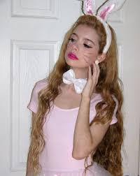 bunny makeup viewing gallery