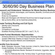 30 60 90 Day Plan Example Sales Ppt Slide 13 Format Sample Marketing