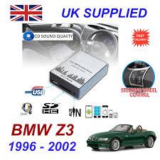 bmw z3 1996 02 mp3 sd usb cd aux input audio adapter digital cd changer module 3495 1 of 6 bmw z3 1996 6 bmw z3 1996