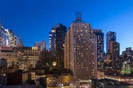 Paramount Hotel Times Square New York - The city lights and beautiful views  are waiting for you at Paramount Hotel! 🏙