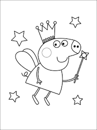Peppa Is 5 Years Old Pig Coloring Pages Ams Peppa Pig Coloring