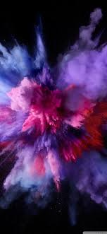 Smartphone Wallpaper Purple Color Burst ...