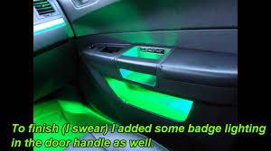 Chrysler 300c Interior Lights Green Hornet Led Lighting
