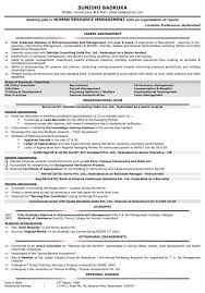 Sample Hr Resumes For Hr Executive Free Resume Example And