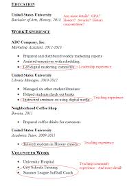 A Good Resume New How To Make A Good Resume Without Work Experience Canreklonecco