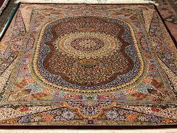 how to handmade persian silk rugs
