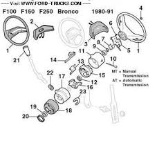 early bronco steering column diagram early image replace steering column extension socket collar non tilt ford on early bronco steering column diagram