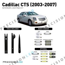 2004 Cadillac Cts Backup Light Cover Cadillac Cts Premium Led Interior Package 2003 2007