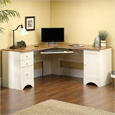 sauder computer desk harbor view corner computer desk antiqued white sauder beginnings computer desk