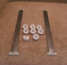 kenmore 14573 dishwasher. 8528831 3385089 kenmore dishwasher track and tub wheels 14573