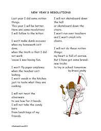 my new year resolution essay education world my new school new year s resolutions lesson plan for teachers grades 4 8