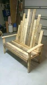rustic outdoor bench recycled pallet sy wooden plans benches
