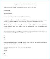 Emailing Cover Letters Email Resume Cover Letter Examples Emailing And Format Of For