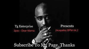 J Cole Lights Please Bpm 2pac Dear Mama Acapella Bpm 84 2