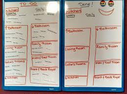 Healthy Ish Mood Food Diy Family Chore Chart