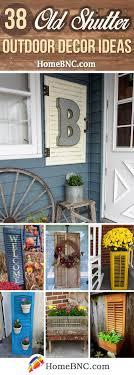 38 Kreative Alte Fensterladen Dekor Ideen Die Unerwarteten Charme