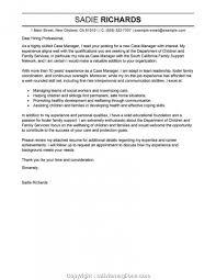 Richards Resume Modern Modern Case Manager Resume Cover Letter Samples Case Manager