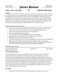 Example Of A Nurse Resume Custom Nurse Resume Examples 28 Example Nursing 28 Samples 20128 Bitwrkco