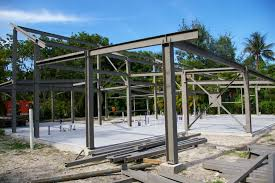 Steel Framed Houses Tin Box Ecosteel Prefab Homes Green Building Steel Framed Picture