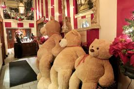 Hug Bears That Light Up At Arnauds A Teddy Bear Hug That Extends From Cops To Kids