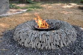 Stacked Stone Fire Pit 38 diy stone fire pit creative stone fire pit on a budget no 2422 by uwakikaiketsu.us
