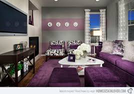Small Picture Gray And Purple Living Room Living Room Design And Living Room Ideas