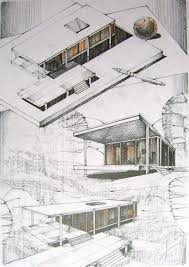 architectural hand drawings. Computer VS Hand Drawings In The Architecture World | Admirers Architectural U