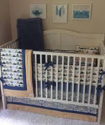 baby bedding boy crib sets denim blue