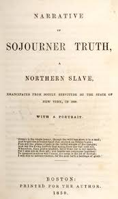 the narrative of sojourner truth   title page narrative of sojourner truth
