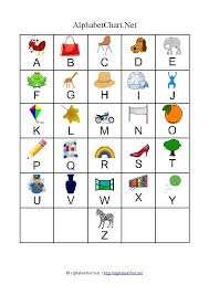 Uppercase Alphabet Letter Chart With Pictures Alphabet