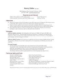 qa tester resume objective sample resumes qa tester resume objective qa tester resume objective