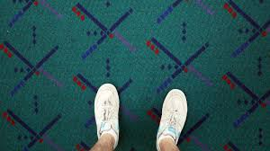 how the portland airport carpet became a hipster icon 80s carpet pattern