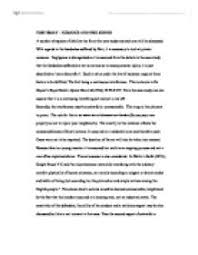 tort essay nuisance and negligence a level law marked by  page 1 zoom in