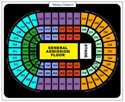 Old Nassau Coliseum Seating Chart Nassau Coliseum Nassaucoliseum_ Twitter