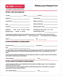 Application For Leave Form Interesting Leave Request Form Sample 48 Free Documents In Word PDF