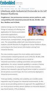Embedded Computing Design Embedded Computing Design Libelium Adds Industrial