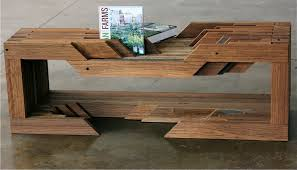 swooning over table made from reclaimed coney island boardwalk.