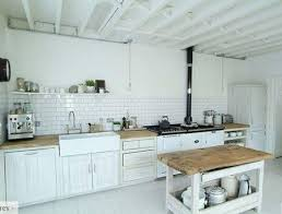rustic white country kitchen. Image Of: White Country Kitchen Backsplash Rustic