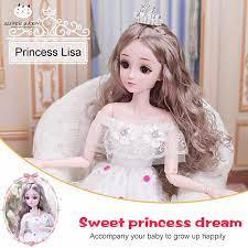 Đồ Chơi SBY Cho Bé Gái 60Cm, Búp Bê Barbie Quà Tặng Sinh Nhật Phiên Bản Sưu  Tập Đồ Chơi Bé Gái Hoạt Hình Dễ Thương