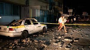 Acapulco, Mexico, struck by magnitude 7 ...