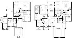 design a floor plan. 5 Bedroom Two Story House Plans Floor Plan At Home Design Storey A