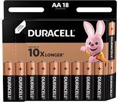 <b>Батарейки</b> щелочные <b>Duracell</b> Basic АА/LR6-18BL 18 штук ...