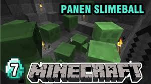 how to make a slimeball in minecraft. Berburu Hantu Karet ( Panen Slimeball ) - MINECRAFT SURVIVAL #7 How To Make A In Minecraft X
