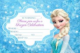 These invitations are 2 sided, but if you want to include all of the party information on the front side you will only have to print one side. Free 10 Cool Frozen Invitation Designs In Psd Ai Indesign Ms Word Pages Publisher