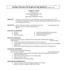 Resume Internship Sample It Intern Resume Internship Resume Sample