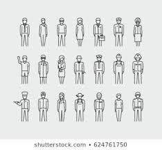 女性 仕事 ピクトのイラスト素材画像ベクター画像 Shutterstock