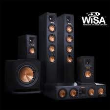 wireless home sound system. klipsch wisa wireless home theater system klipsch surround sound