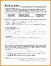 Old Fashioned Computer Support Technician Resume Embellishment